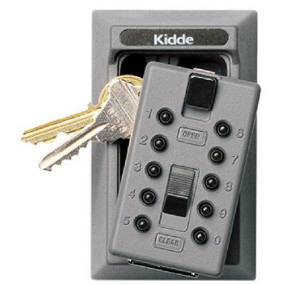 KIDDE -  #001015 S5PUSH - Keysafe Permanent, 5-Key, Push Button, Titanium