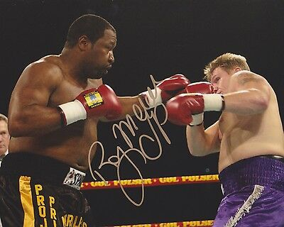 RAY MERCER Signed Autograph Auto 8x10 Boxing Champion Picture Photo w/COA