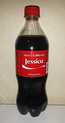 Share a Coke with Jessica - 20 oz Bottle - New, Sealed - 2015 - Coca Cola