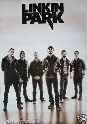 "Linkin Park ""thousand Suns - Black & White Group Shot"" Poster From Asia"