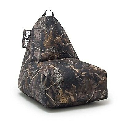 Big Joe Banana Chair Camo 2014 Gabardine- 627625 Bean Bag NEW
