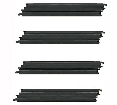 """Micro Scalextric 1:64 Track Spares - G101 / L7553 - 15"""" Long Straight x 4"""
