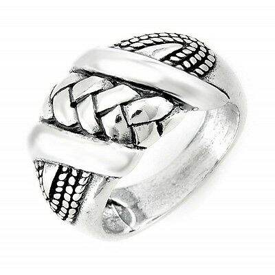 Southwestern Sterling Silver Ring Size 7