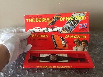 1981 Dukes Of Hazzard Tin Metal Garbage Can Grail Piece Vintage SUPER CLEAN
