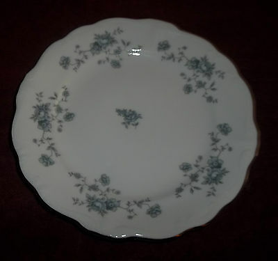 "Vintage Johann Haviland Bavaria Germany Blue Garland 6"" BREAD Plate"