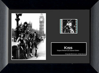 Film Cell Genuine 35mm Framed & Matted KISS S1 USFC1958 Special Edition