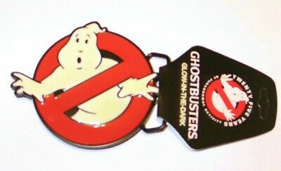 The Ghostbusters Movie No Ghosts Logo Large Belt Buckle, NEW UNUSED