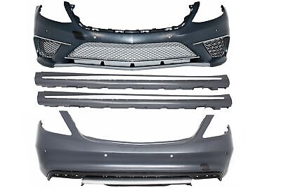 For Mercedes  W222 S-Class 2013+ S63 S65 A-Design Body Kit Bumper Side Skirts