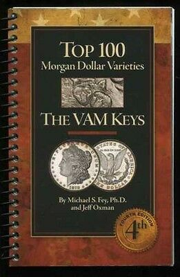 Top 100 Morgan Dollar Varieties The Vam Keys 4Th Ed