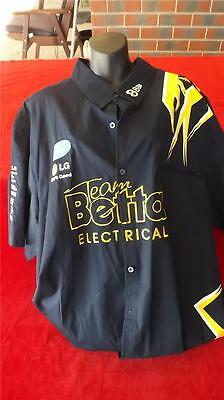 Ford Triple 8 Racing Pit Shirt Like New Size 5Xl