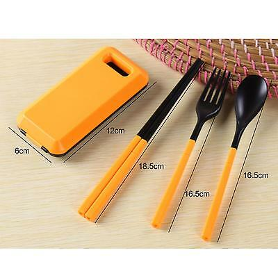 Protable Outdoor Camping Travel Picnic Chopsticks Tableware Dinnerware Cutlery