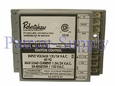 Robertshaw 780-785, Hs780-34Nl-306A 24V Hot Surface Ignition Module