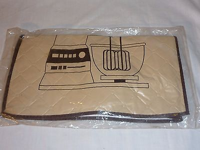 Vintage 1980's NIP Stand Mixer Quilted Vinyl Cover Action Industries