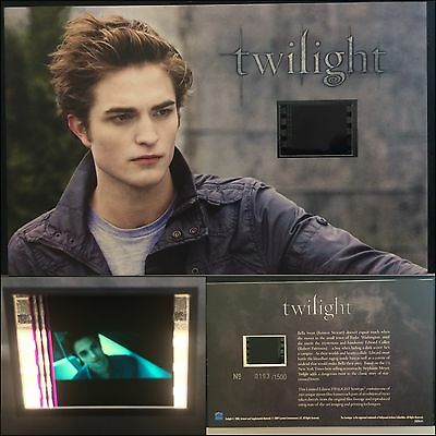 Twilight Robert Pattinson Limited Edition #16 Film Cell Individual Numbered