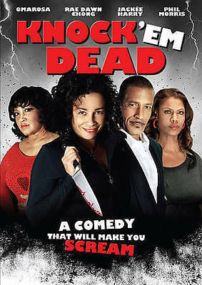 Knock 'Em Dead (DVD, 2015) raunchy African-American comedy  Jackée, Candice Coke