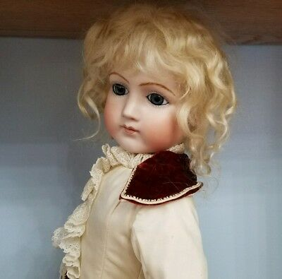 Antique Reproduction Portrait Jumeau Eugenie Porcelain Doll