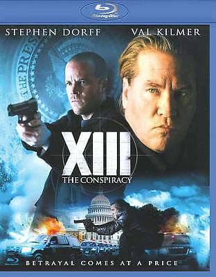 XIII: The Conspiracy (Blu-ray Disc, 2010) Val Kilmer, Stephen Dorff  R-RATED