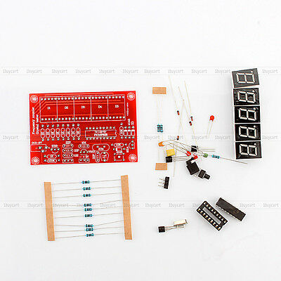 1-50MHz LED Display Frequency Counter Con Frequency Oscillator Kit DIY