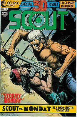 Scout # 16 (in 3-D) (Timothy Truman) (USA, 1987)
