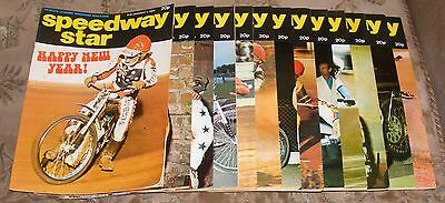 Speedway Star Magazine Various Issues 1977