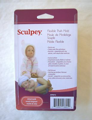 Push Molds Clay Sculpey Fimo INFANT Doll Head Body Legs