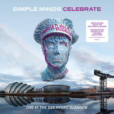 "Simple Minds : Celebrate: Live at the SSE Hydro, Glasgow Vinyl 12"" Album 2"