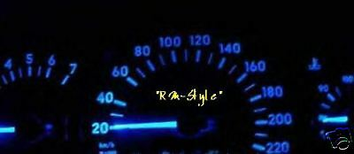 Led Speedometer blue Opel Astra F+G without solder