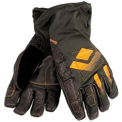 Black Diamond MENS Squad Ski Snow Gloves FLAME ORANGE - Waterproof GorTex MEDIUM