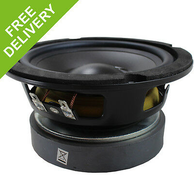 "5.25"" Passive Hi fi Speaker Driver Woofer Hifi Hobby 150W Replacement Cone 8 Ohm"