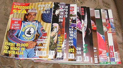 Speedway Star Magazine Various Issues 1996