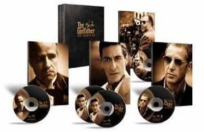 The Godfather Trilogy (5 Disc Box Set)  DVD Marlon Brando, Al Pacino, James Caan