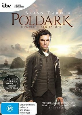 Poldark the complete Season Series 1  DVD Region 4 New & Sealed