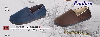 Coolers Mans Slippers Full Foot   BRAND NEW & FREE POST