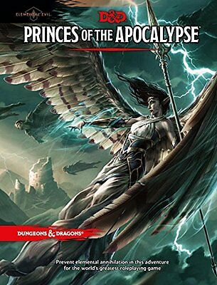 Dungeon & Dragons D&D 5th Edition Princes of the Apocalypse Adventure