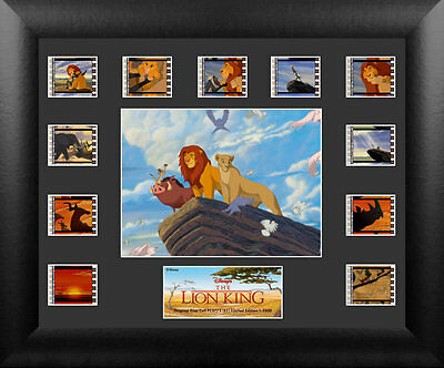 Film Cell Genuine 35mm Framed Matted Lion King Disney Montage USFC5773 NEW