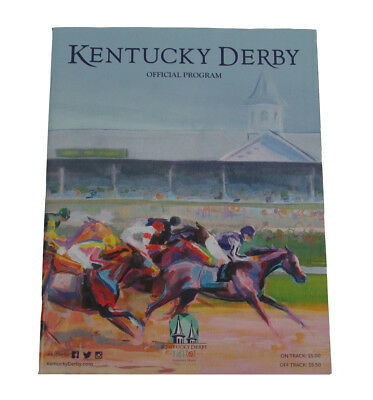 2015 Kentucky Derby Churchill Downs Official Program 141th American Pharoah