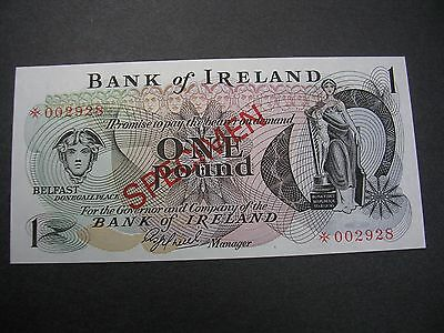 ND Ireland 1 Pound ND Specimen   Unc