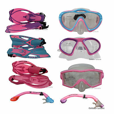 Body Glove Childrens Junior Mask Snorkel Fin Scuba Swimming Beach Holiday