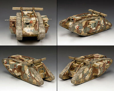 """KING AND COUNTRY WW1 Captured Mk.IV Tank"""" (German Version)  FW219"""