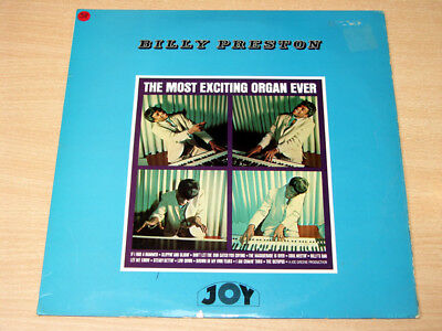 Billy Preston/The Most Exciting Organ Ever/1968 Joy LP