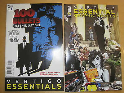 100 Bullets : 1st chapter of Vol 1 by Azzarello & Risso. DC VERTIGO ESSENTIALS