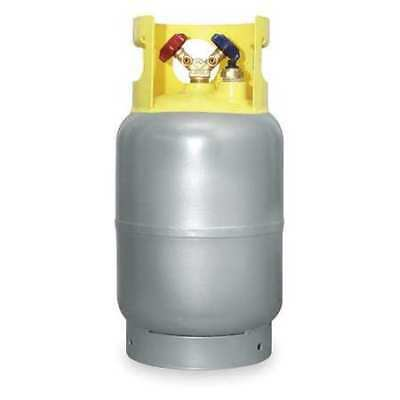 ZORO SELECT 4LZH2 Refrigerant Recovery Cylinder,30 Lbs