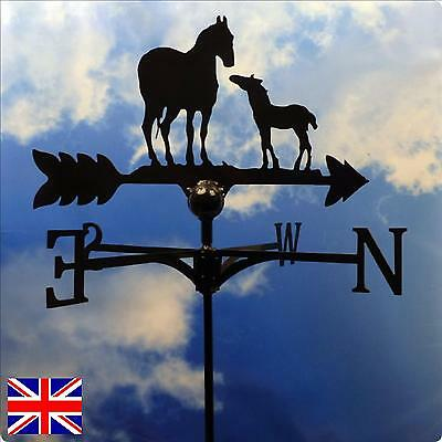High Quality British Made Horse and Foal Weathervane.(4B)