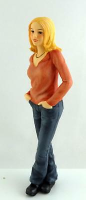 Dolls House Miniature 1:12 Scale People Modern Resin Figure Casual Lady Woman