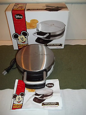 Disney Mickey Mouse Waffle Maker New in Box