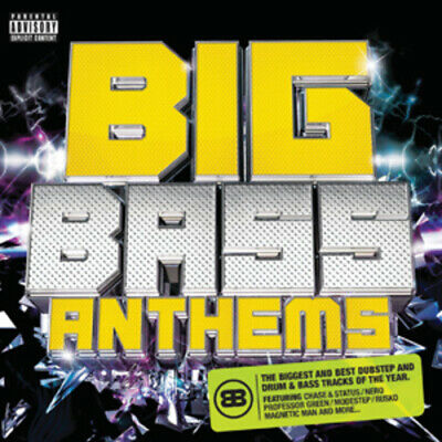 Various Artists : Big Bass Anthems CD (2011)