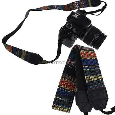 Vintage Retro SLR DSLR Camera Neck Shoulder Strap Belt for Sony Canon Nikon
