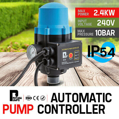 NEW PROTEGE Automatic Water Pump Controller Pressure Electric Switch Adjustable