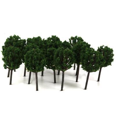 50x Model Trees 4cm for Train Street Building Layout Wargame Diorama Scenery
