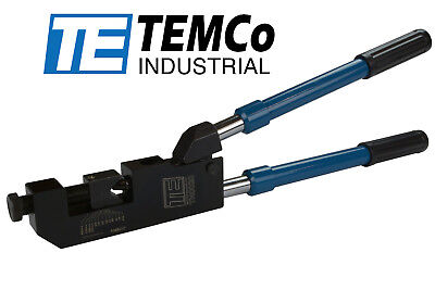 TEMCo HD 10GA–400mcm DIELESS INDENT LUG CRIMPER TOOL Battery Terminal Cable Wire